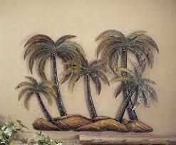 palm tree wall decoration