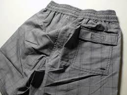 checkered board shorts