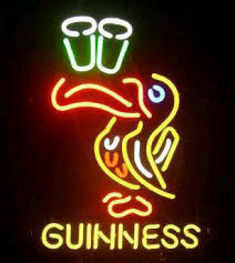 guinness neon signs