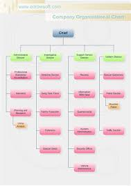 software company organizational chart