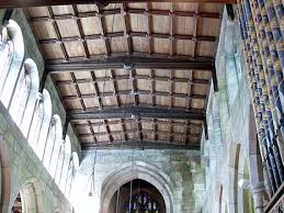 panelled ceiling