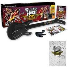 guitar hero aerosmith bundle playstation 2