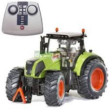 remote controlled tractor