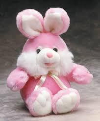 pink fuzzy bunny