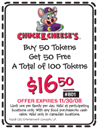 chuckecheese coupon