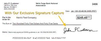 check signature