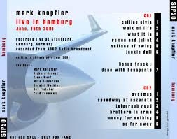 Mark Knopfler - 2001-06-16: Stadtpark, Hamburg, Germany