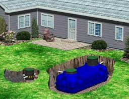 above ground septic tank