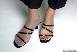 pantyhose open toe shoes