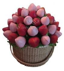 chocolate covered fruit bouquet