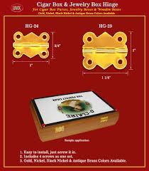 jewelry box hinges