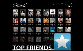 top friends on facebook