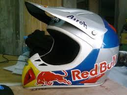 redbull motocross helmet