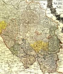 schlesien map