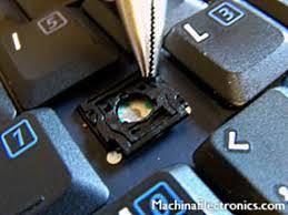 fixing laptop
