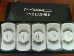 mac false eye lashes