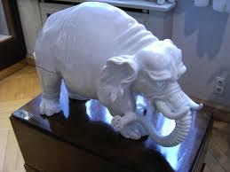 elephant porcelain