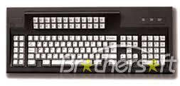 122 key keyboard