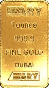 1 ounce gold bars