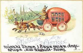 german easter cards