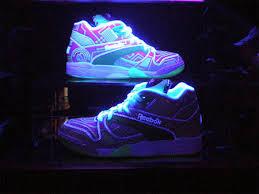 glow in the dark shoe