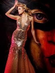 mermaid prom gown