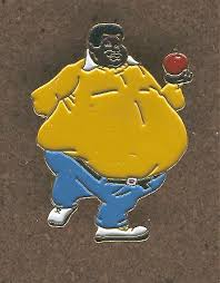 cartoon fat person