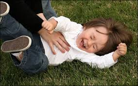 children tickle