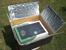 homemade solar ovens