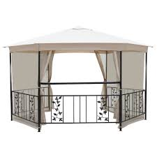 steel gazebos