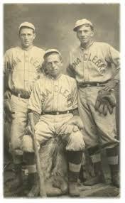 old baseball uniform
