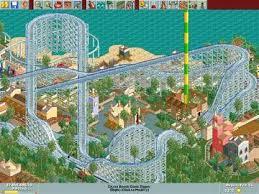 roller coaster computer game