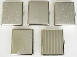 metal cigarette cases