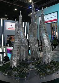 model towers