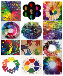 color wheel drawing