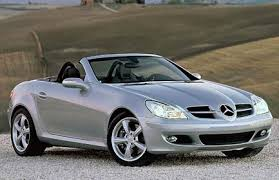 mercedes sports convertible