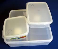 plastic food bins
