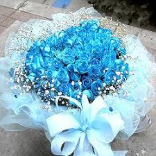 blue rose bouquets
