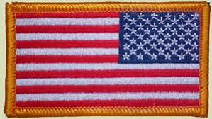military uniform patch
