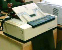 old fax machines