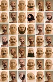 beard no moustache
