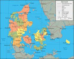 a map of denmark