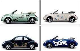 vw beetle stickers