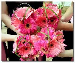 gerber daisies wedding bouquets