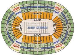 aloha stadium seating chart