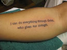 bible verses tattoo