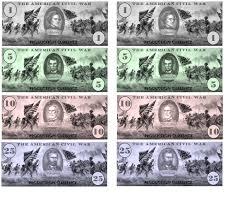 civil war paper money