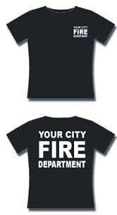 fire fighter t shirt