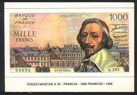 france paper money