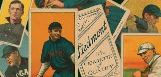 antique baseball card